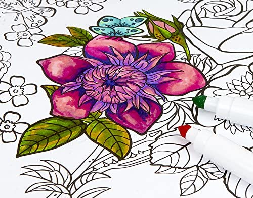 Image of a flower drawing